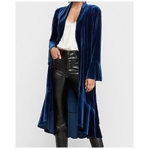 NWT Express Velour Duster
